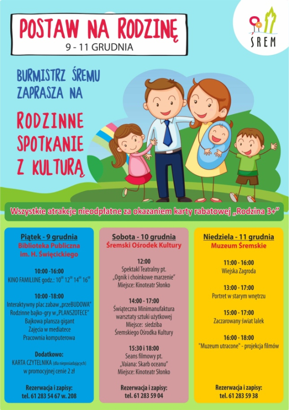 Rodzina 3+ plakat
