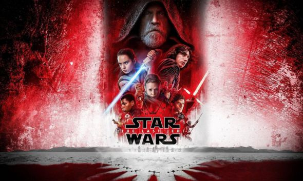 Gwiezdne Wojny Ostatni Jedi cover
