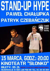 2018 Stand-up Chalupka Czubanczuk cover