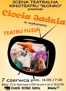 Teatr Fuzja - Ciocia Jadzia cover