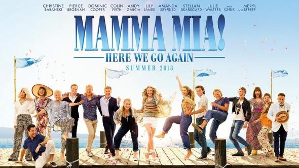 Mamma Mia Here We Go Again cover 2