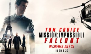 Mission Impossible Fallout cover