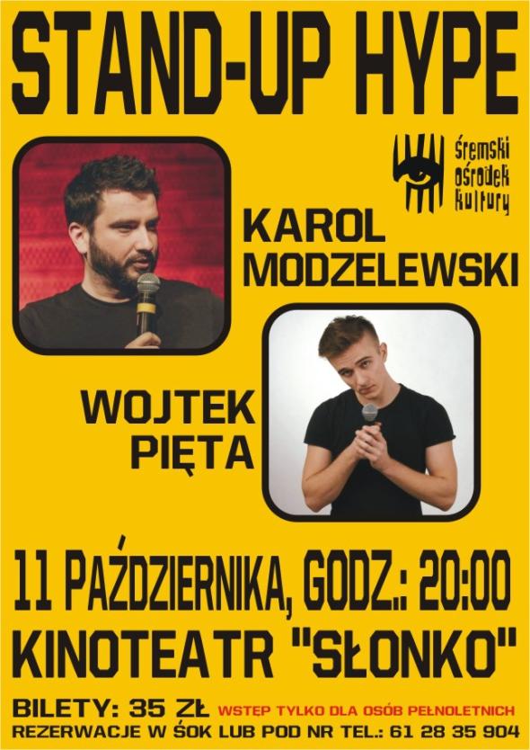 Stand-up-Pięta, Modzelewski cover