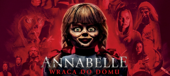 Annabelle wraca do domu cover