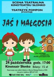 Spektakl Jas i Malgosia cover